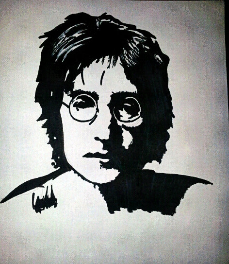 John Lennon por Paulinaa18